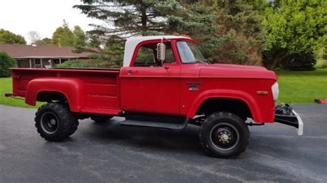 View photos, features and more. 1970 Dodge Powerwagon D300 4x4 Dually low miles - Classic ...