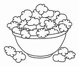Popcorn Coloring Bowl Shopkins Printable Cookie Corn Snack Drawing Poppy Colouring Dough Sheet Ocoloring Season Mixing Draw Getdrawings Sheets Colorings sketch template
