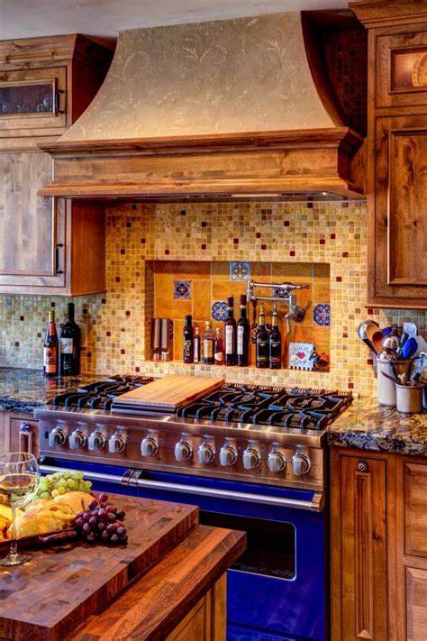 mediterranean kitchen  rustic welcoming hgtv