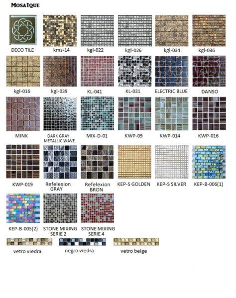 armoires de cuisine mosaic