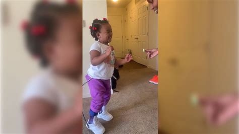 Single Mom Teaches Daughter With Cerebral Palsy To Walk In
