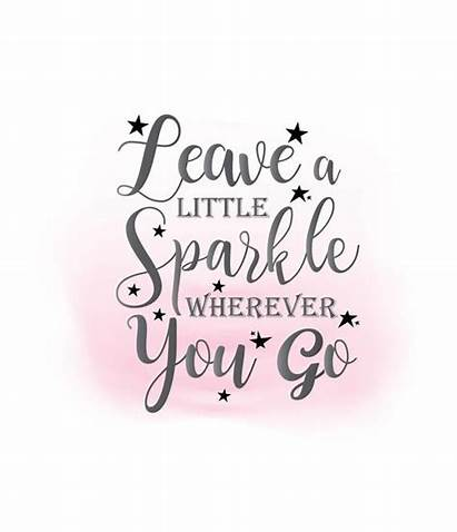 Inspirational Svg Sparkle Clipart Leave Word Quote
