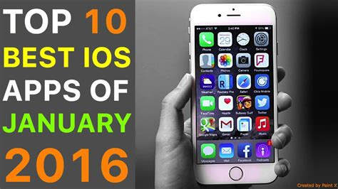 best app for iphone top 10 best iphone apps of january 2016