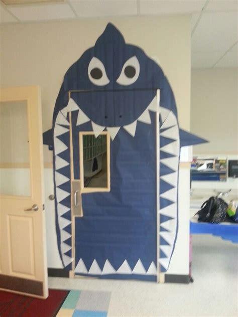 shark door  preschool classroom preschool classroom