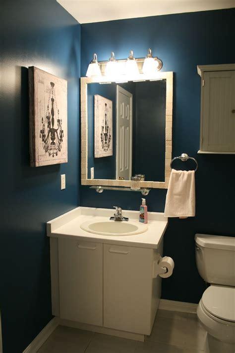 cool navy blue bathroom wallpaper bathroom wallpaper