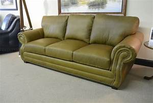 Carolina custom leather furniture in fort wayne rainbow for Easton leather sectional sofa