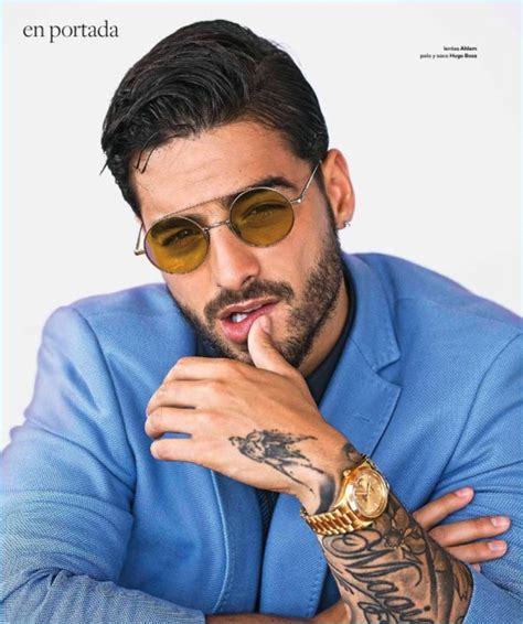 Maluma Covers Caras, Talks Musical Influences & Working