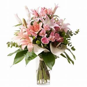 Bouquet De Fleurs Interflora : romeo lys et rose interflora fleurs pinterest pink flower arrangements rustic wedding ~ Melissatoandfro.com Idées de Décoration