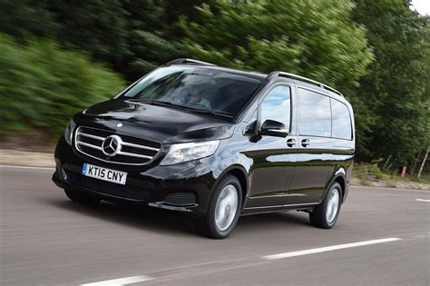 Review Mercedes V Class by Mercedes V Class V250 2015 Uk Drive Review