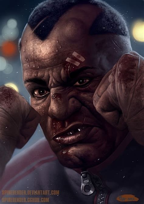 Realistic Street Fighter Character Portraits