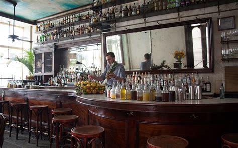 hidden bars  restaurants  nyc travel leisure