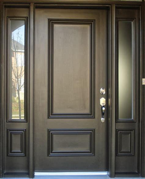 contoh gambar model  desain pintu utama minimalis
