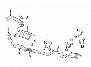 Chevrolet Impala Catalytic Converter  Exhaust  Liter