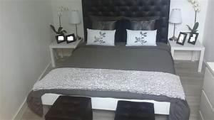 chambre noire et blanche photo 1 5 3506885 With chambre blanche et noir