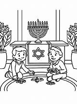 Hanukkah Coloring Dreidel Pages Printable Chanukah Crafts Jewish Decorations Fun Para Sheets Crayola Holiday Hannukah Happy Star David Decoration Transparent sketch template