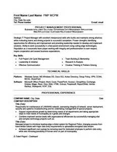 it project manager resume summary exle it project manager resume template premium resume