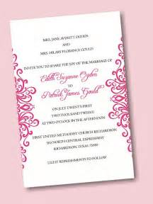 how to make your own wedding invitations create your own wedding invitation suite 04