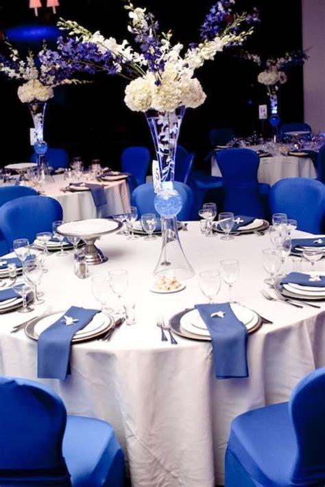 fabulous royal blue wedding decorations ideas blue