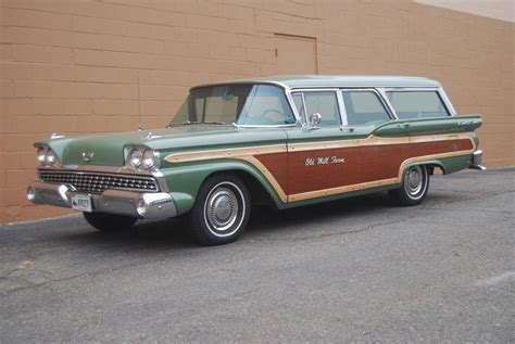 ford usa 1959 country sedan 4door station wagon the 1959 ford country squire station wagon sale
