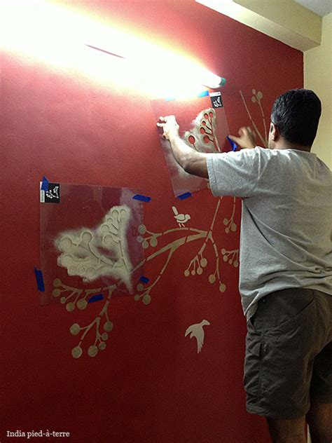 Painting And Stenciling In India  Nomadic Decorator