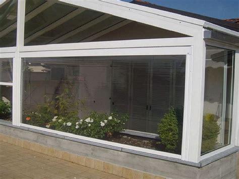 chiusure terrazzi in pvc teli pvc trasparente per verande profilati alluminio