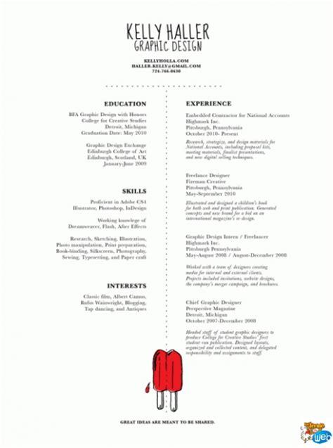 Great Simple Resume Designs by 30 Exemples De Cv Design Et Cr 233 Atifs Pour Votre Inspiration La Ferme Du Web