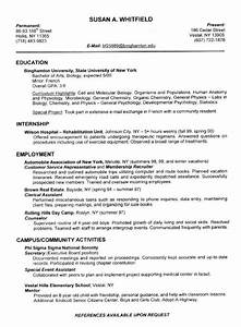 How To Write A Good Cv Examples Relevant Coursework In Resume Example Http Www