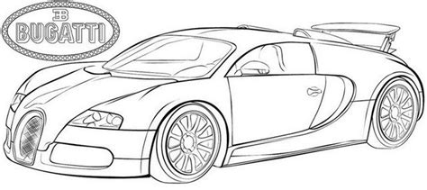 Drawing of the new bugatti chiron. Bugatti Chiron Coloring Pages Coloring Coloring Pages