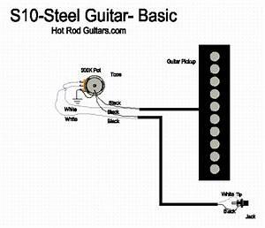 Single Pickup Steel Guitar
