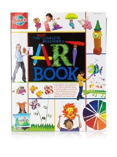 ts shure   complete beginners art book spiral