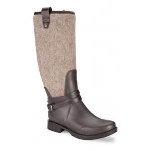 colorado s boots australia ugg australia 39 korynne 39 waterproof rubber boot in chocolate footwear from voila uk