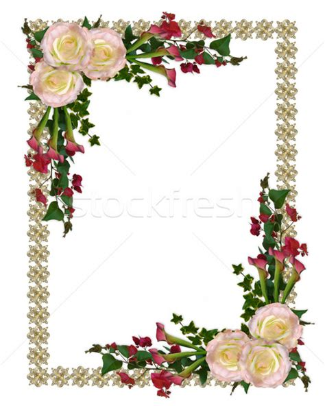 wedding invite borders    clipartmag