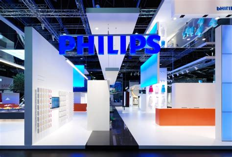 philips lighting stand  totems duesseldorf germany