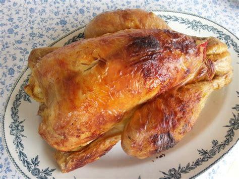 thym cuisine cuisson du poulet rôti au four le calculateur de temps