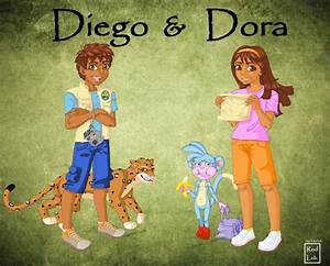 Diego and Dora by rodleb2 on DeviantArt