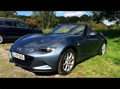 mazda country new mazda mx 5 on country road and autobahn ドイツ仕様nd