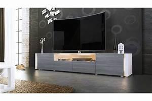 Grand banc tv design laqué Trendymobilier