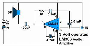 9 Volt Amplifier Circuit Diagram