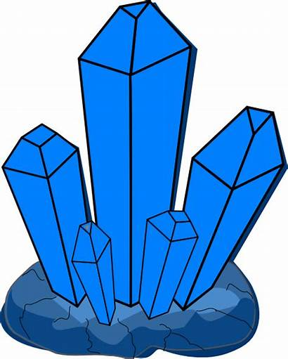 Clipart Crystal Cristal Kristal Gambar Clip Kartun