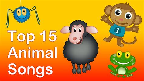 animal songs for preschool top 15 animal songs 25 mins animals nursery rhymes 95968