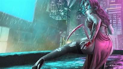 Cyberpunk Wallpapers 4k Artwork Artstation Backgrounds Resolution