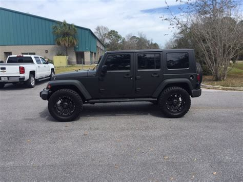 jeep sahara matte black 2007 jeep wrangler matte black sold
