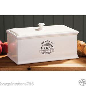 ceramic kitchen storage containers vintage home kitchen loaf bread box ceramic bin 5184
