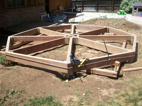 simple octagon deck plans ideas photo home plans
