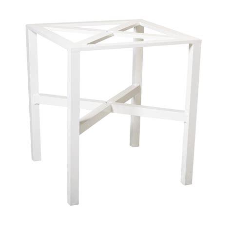 counter height table base woodard elite counter height table base 4v5500