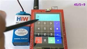 Touchscreen Calculator Using Arduino