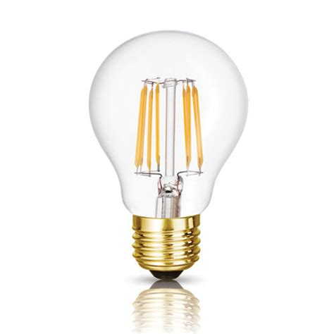 dimmable 6w 8w led vintage filament bulb a19 edison style