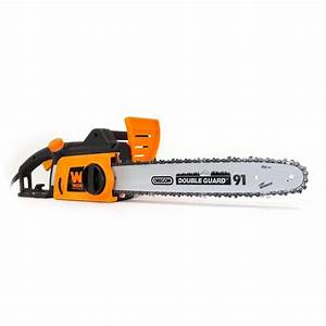 WEN 16 in. 12 Amp Electric Chainsaw-4017 - The Home Depot