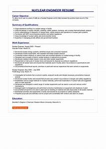 basic job resumes sample nuclear engineer resume how to write nuclear