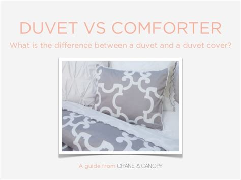 difference between duvet and comforter duvet vs comforter